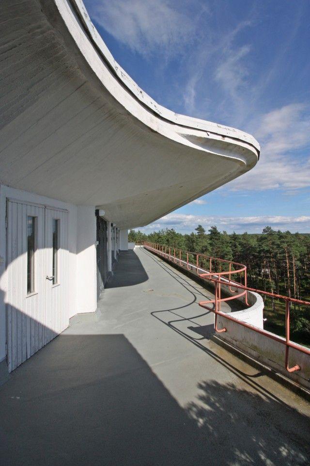 Alvar aalto sanatorio de paimio fotograf a oriol va - Vano arquitectura ...
