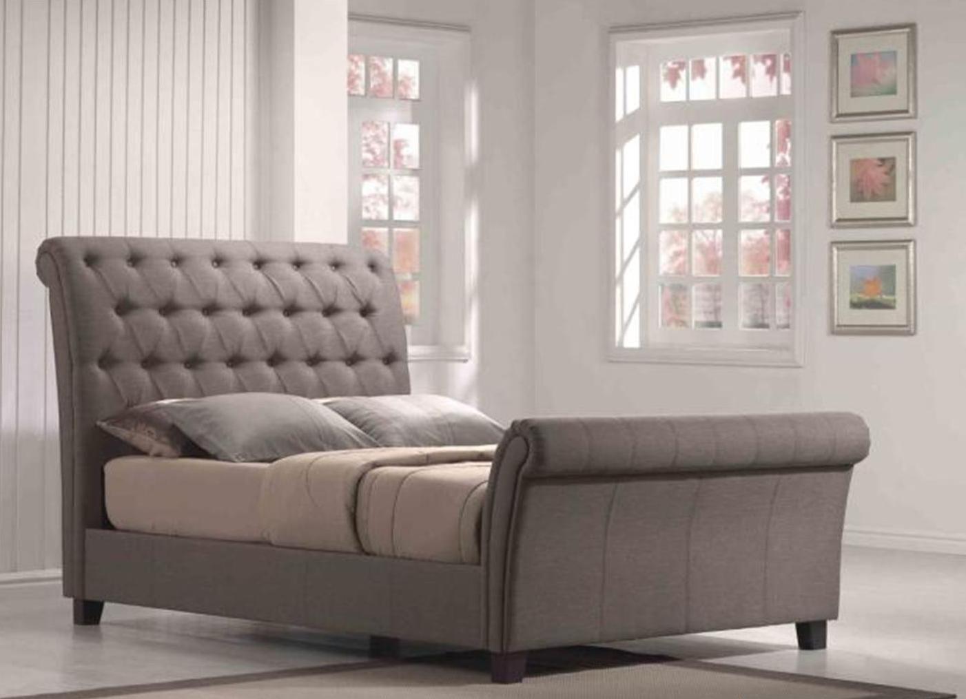 700 King Emerald Home Furnishing Llc Innsbruck Tufted Fabric