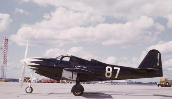 P-63 Kingcobra, 1949 National Air Races . . .