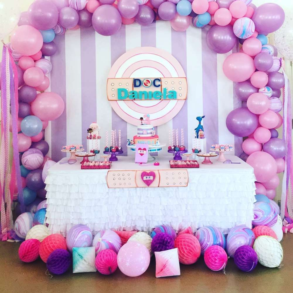 Doc Mcstuffin S Birthday Party Ideas Photo 2 Of 12 Doc Mcstuffins Birthday Party Ideas Cake Doc Mcstuffins Birthday Doc Mcstuffins Birthday Party