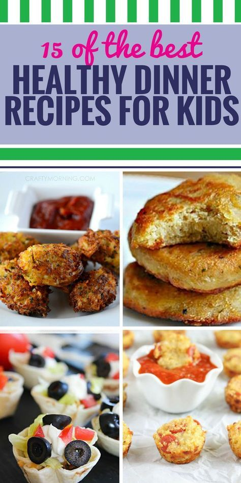 15 Healthy Dinner Recipes for Kids images