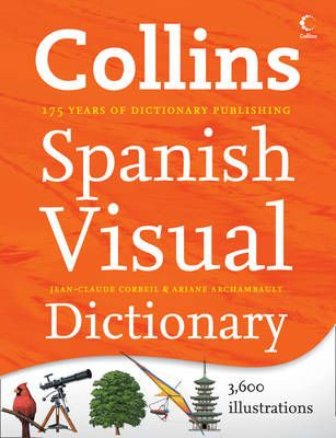 Collins Spanish Visual Dictionary will help you get the picture! With 3,600 illustrations labelled in Spanish and English, and arranged by topics, this invaluable learning tool is ideal for those wishing to develop their Spanish vocabulary quickly and easily. Learn easily spanish for £8.49