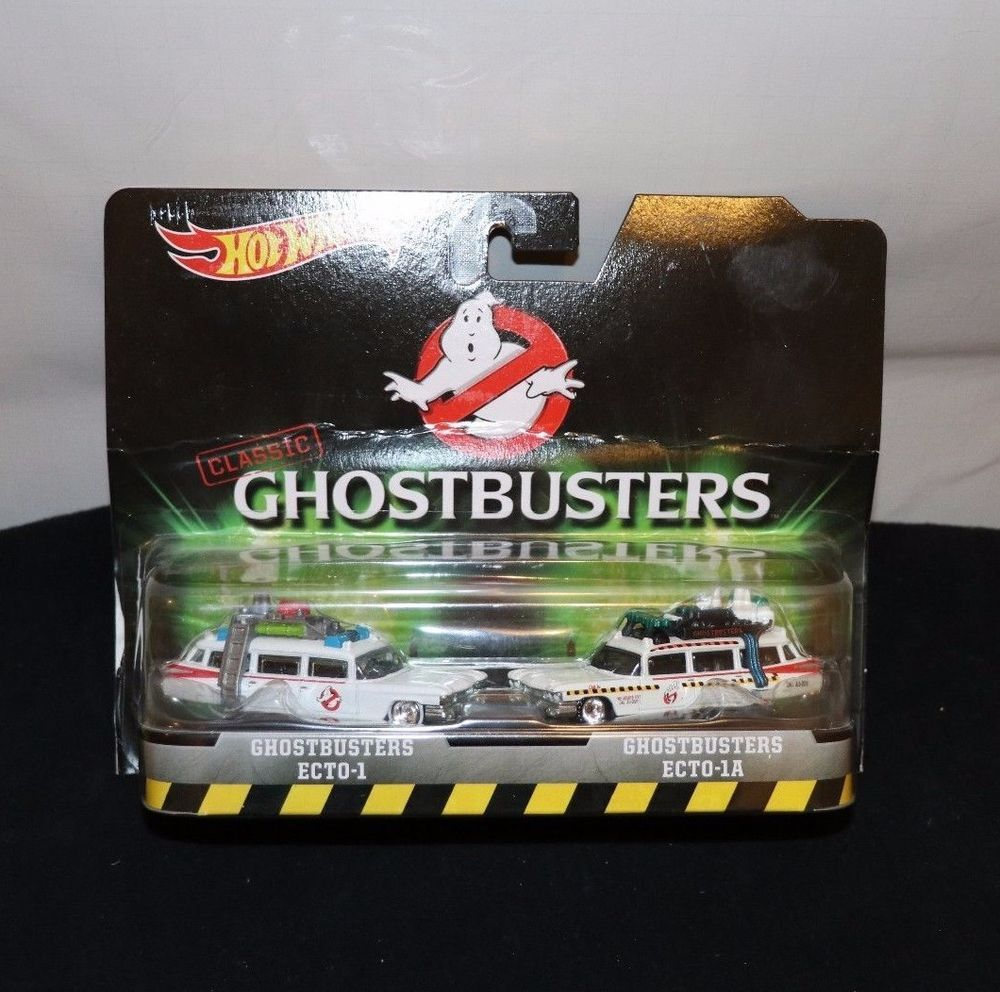 Ghostbusters toys car  GHOSTBUSTERS CLASSIC HOT WHEELS ECTO ECTOA  PACK CARS