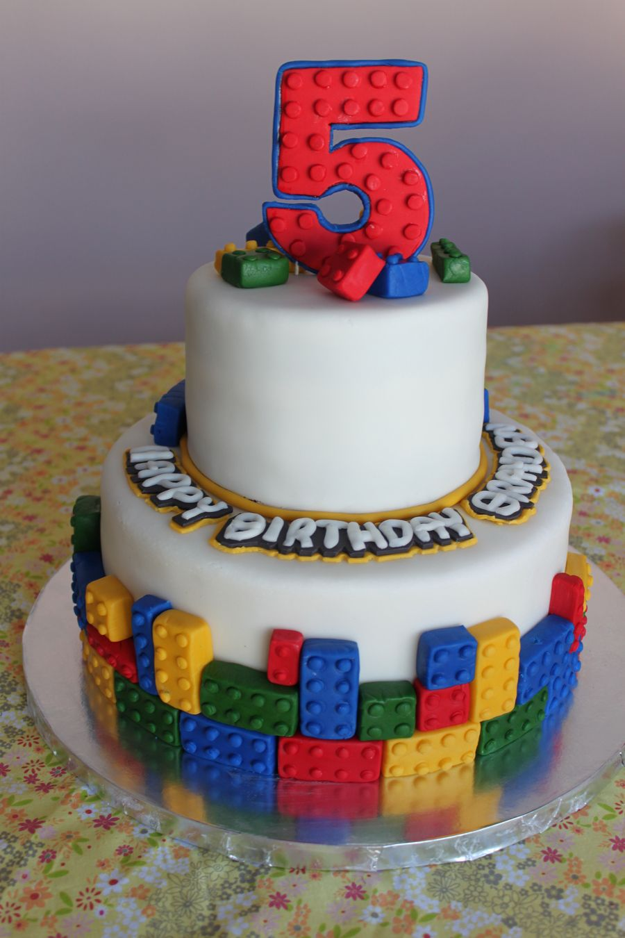 Lego Cake Cakes Lego Cake Birthday Cake 5th Birthday