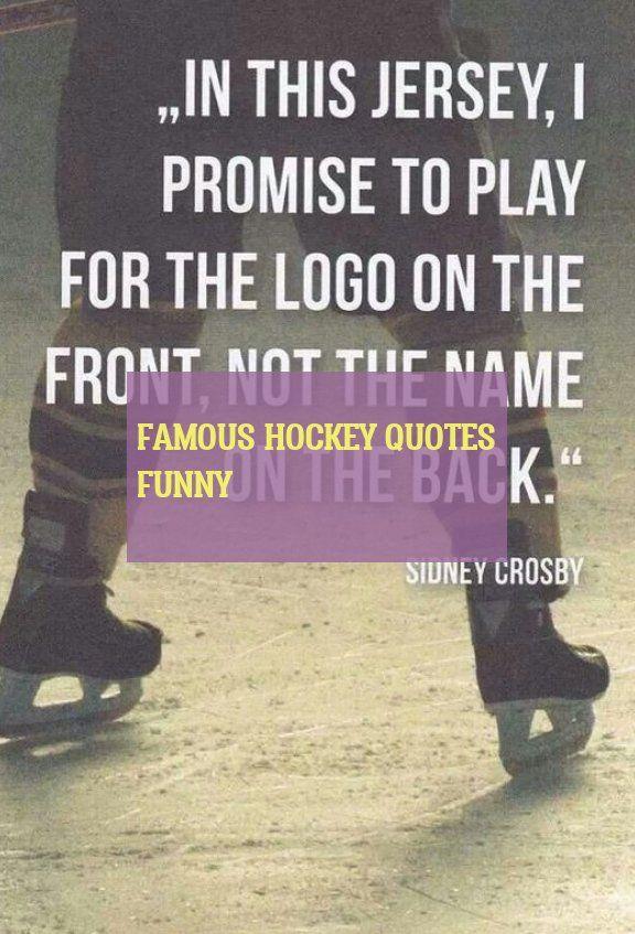 Citations De Hockey Célèbres Drôle Famous Hockey Quotes Funny