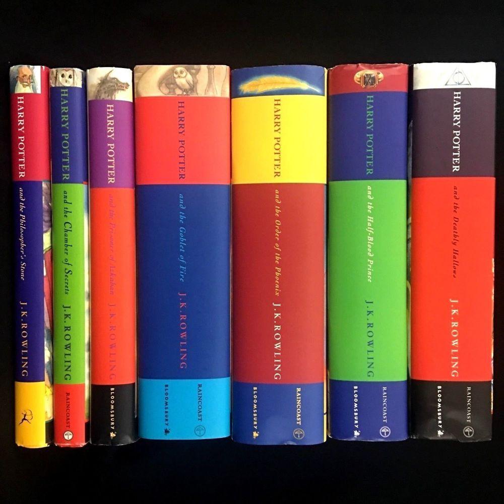 Affiliate Harry Potter Set Lot 1 7 Bloomsbury Raincoast All