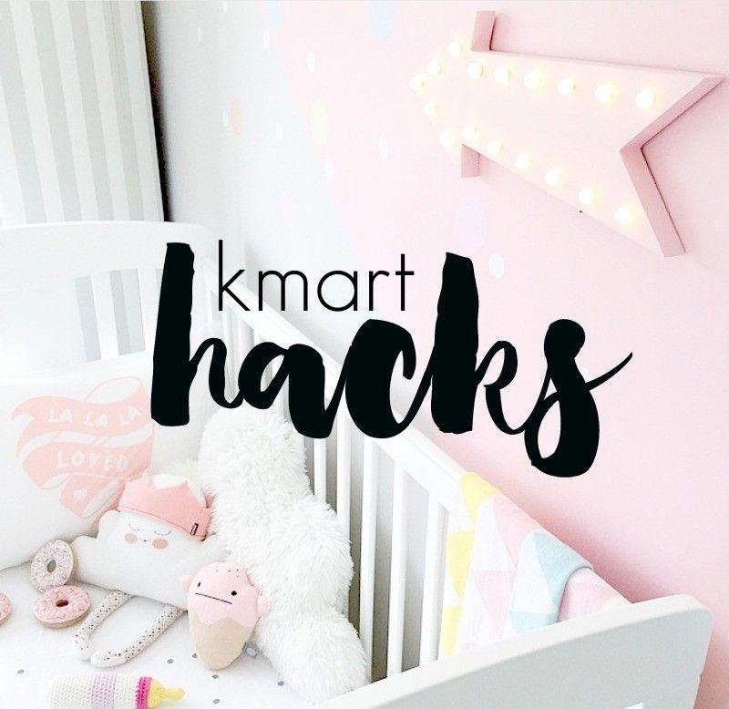 Amazing Kmart Hacks Our Urban Box Kmart Hacks Girly Nursery Kmart