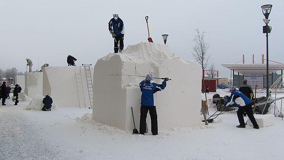Lumenveistäjät työssä
