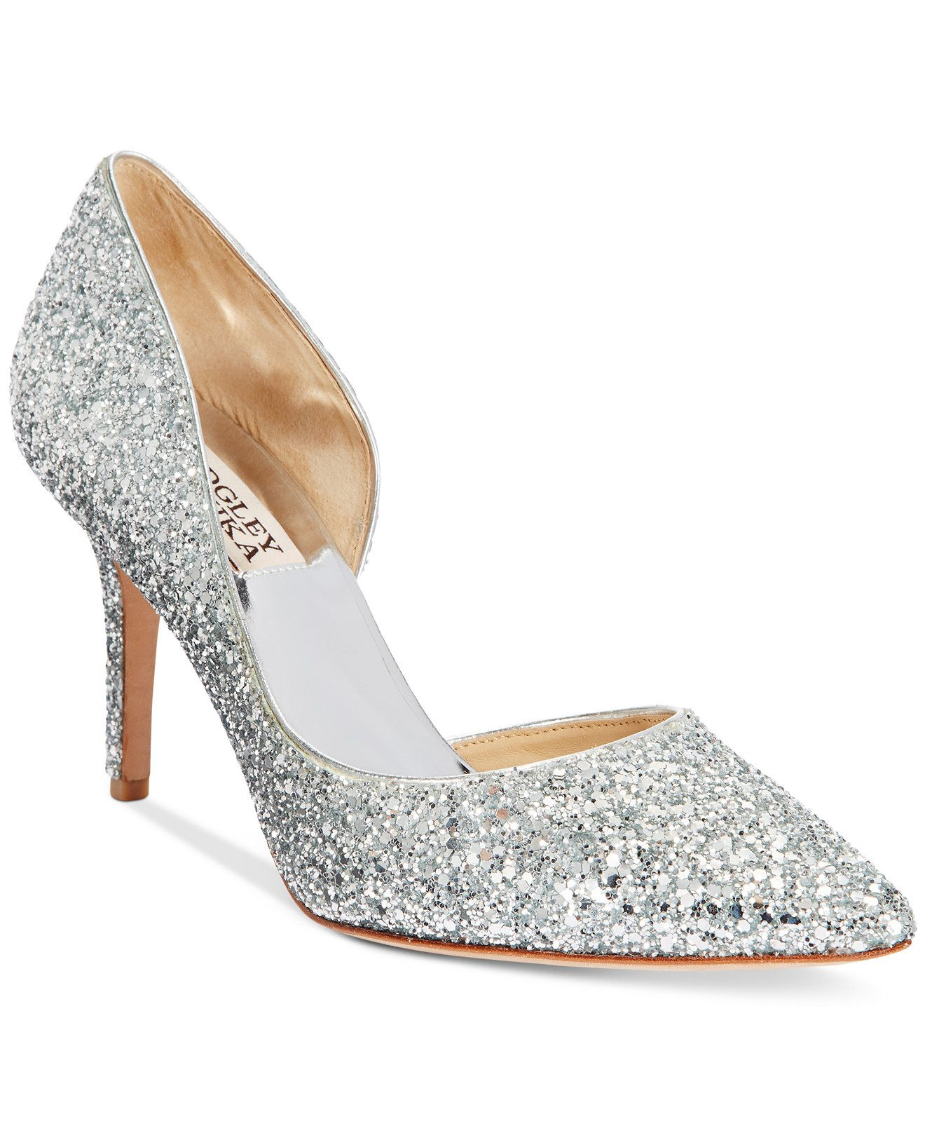 Badgley Mischka Daisy D'Orsay Pumps - Pumps - Shoes - Macy's