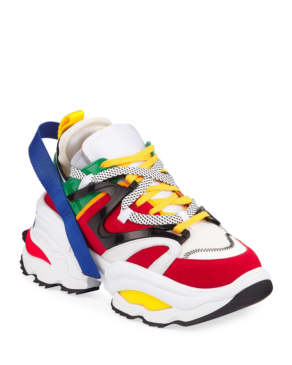 Leather sneakers, Sneakers, Dsquared2