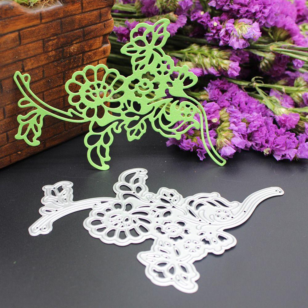 3D Hollow Flower Cutting Dies Stencil Scrapbook Paper Card Embossing Craft DIY