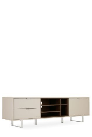 Buy Logan Taupe Super Wide TV Unit From The Next UK Online Shop