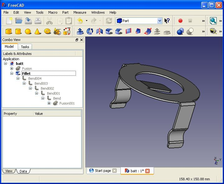 Sheet Metal Addon For Freecad Open Source Cad Software