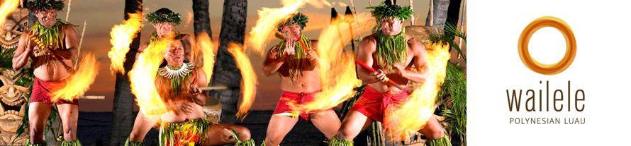 Wailele Polynesian Luau. September - 2, 4, 6.  808-661-2992, $125 + tax