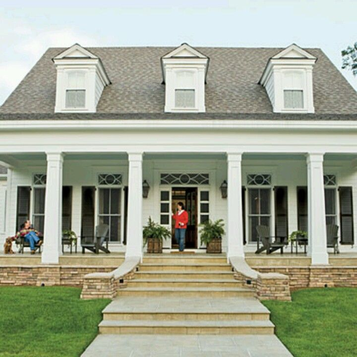 southern style home | dream home | pinterest | southern, porch and house