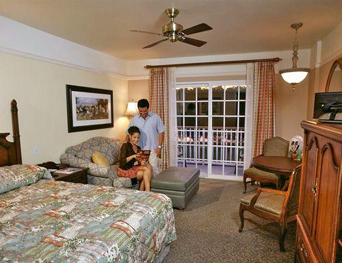 Deluxe Studio at Disney's Saratoga Springs Resort & Spa in