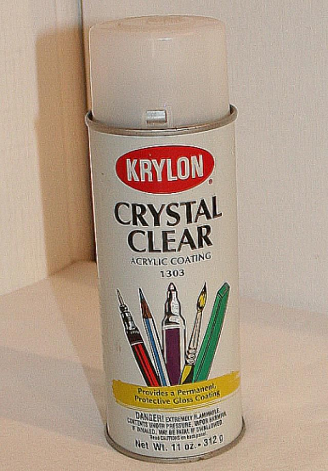 Acrylic Sealant Spray - Definition - Paper Mache Craft Terms
