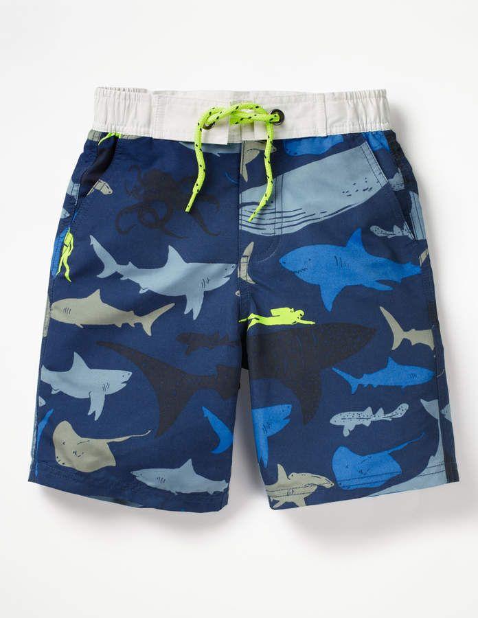 63f07699bc Boden Board Shorts | Beach stuff | Boys swimwear, Swimwear, Shorts