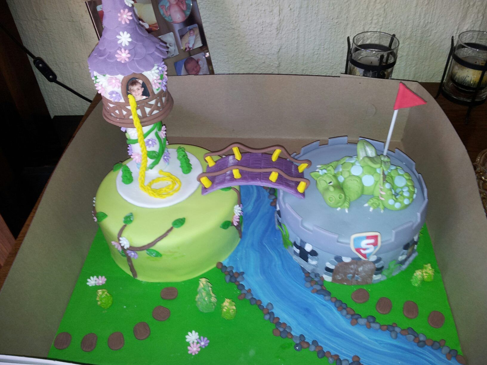 Phenomenal 5Th Birthday Cake For Twins Boy And Girl The Cake Boutique Funny Birthday Cards Online Inifodamsfinfo