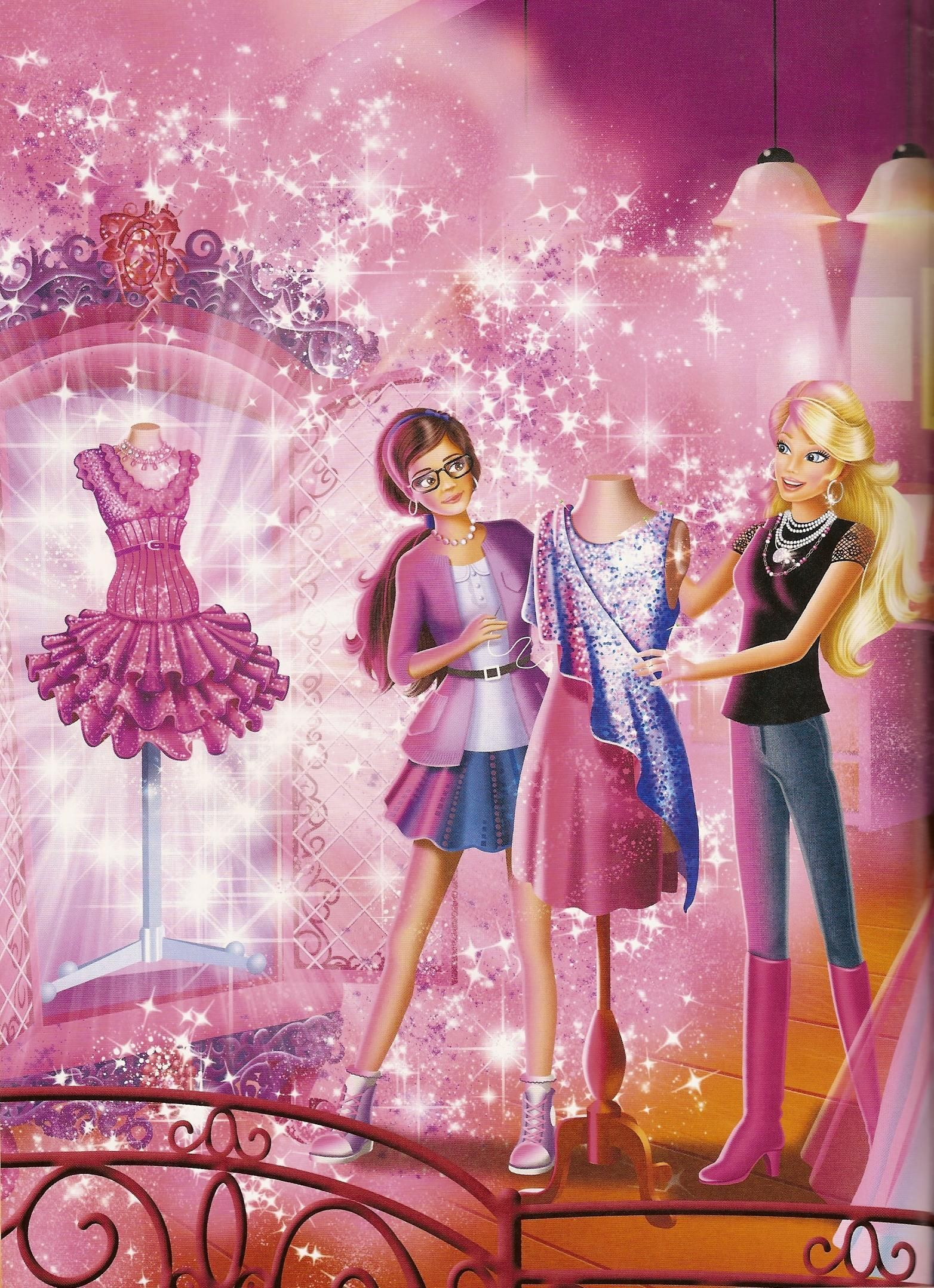 Barbie Princess Cartoon Gallery Barbie A Fashion Fairytale Barbie Cartoon Barbie Princess Barbie Movies