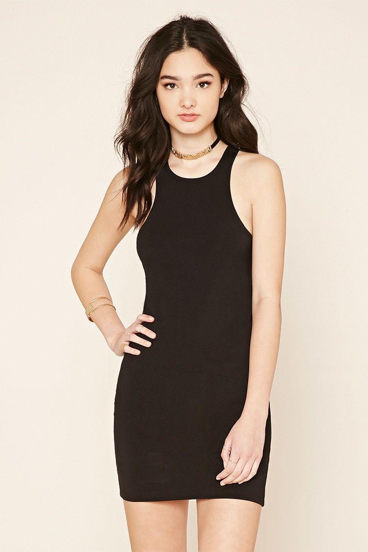 Racerback Bodycon Dress Dresses Bodycon Dress Fashion [ 1125 x 750 Pixel ]
