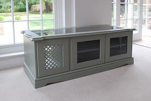 TV cabinet | TV stand | Custom made home entertainment cabinet ...
