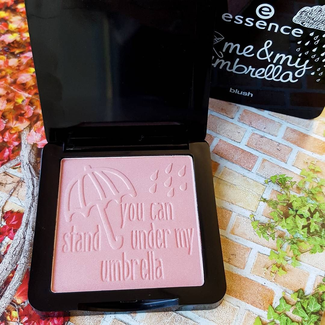"""our trend edition blush """"you can stand under my umbrella"""" is simply a perfect shade for autumn ❤☂ #meandmyumbrella"""