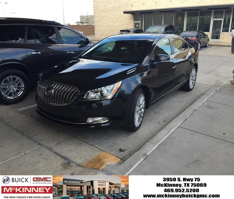 Happy Anniversary To Spencer On Your Buick Lacrosse From Austin