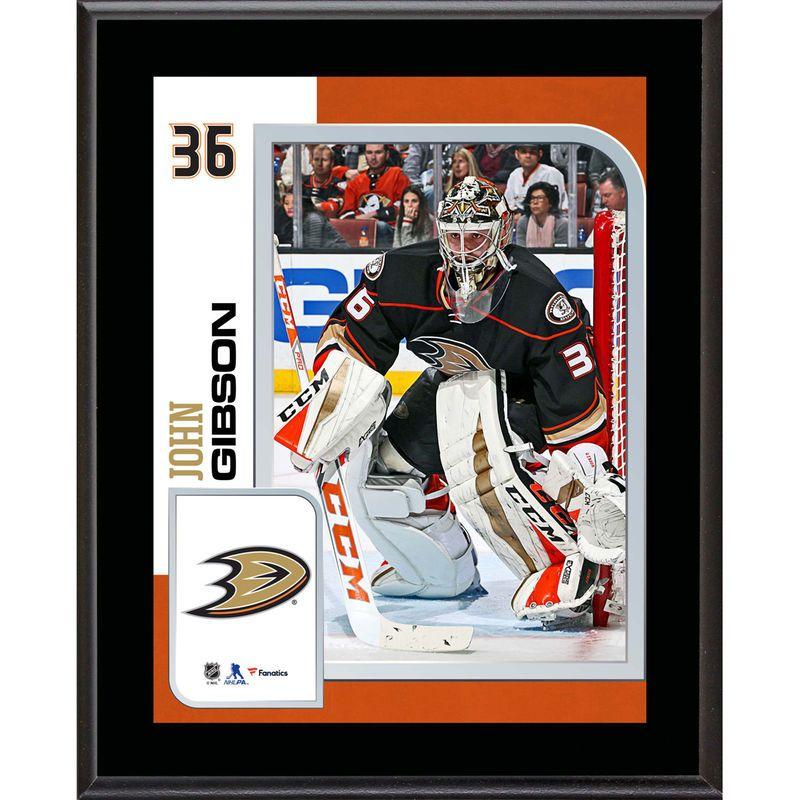 size 40 fa88b ca98d John Gibson Anaheim Ducks Fanatics Authentic 10.5