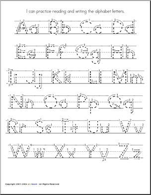 handwriting letter dotted practice - Google Search | Handwriting ...