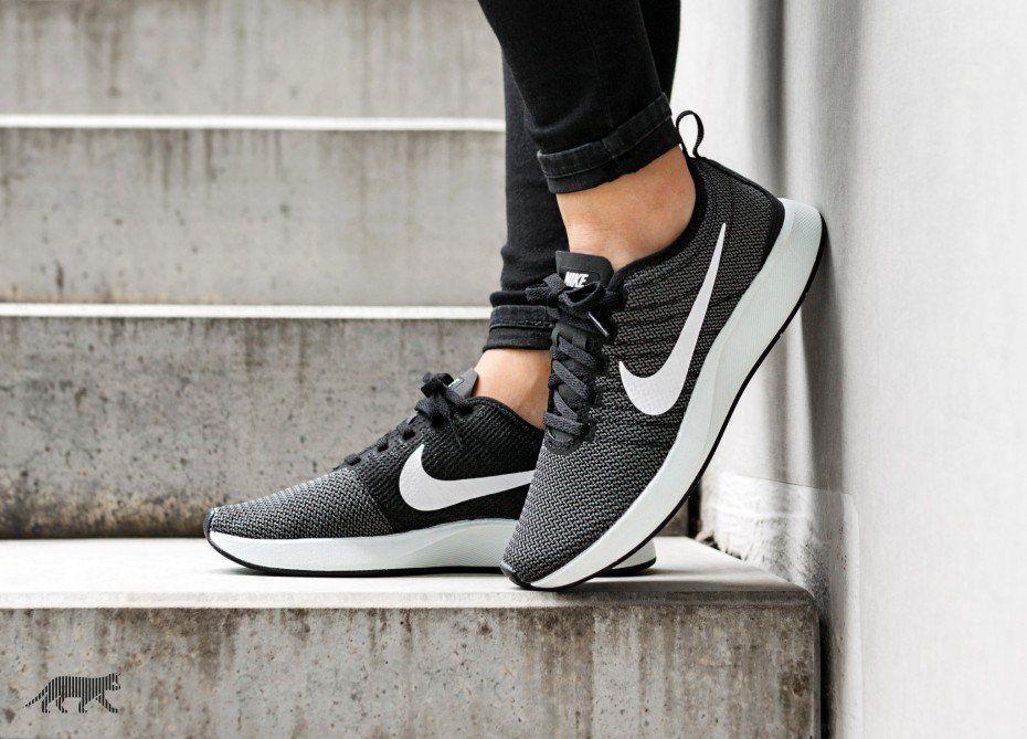 Nike Dualtone Racer (Black / White - Dark Grey)
