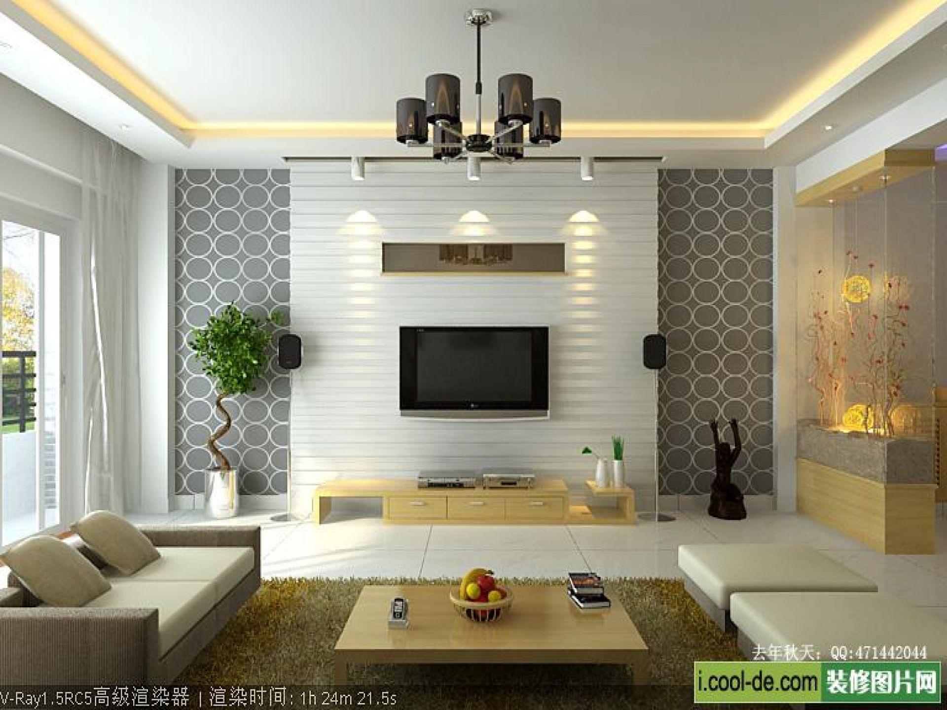 Bedroom Design Living Room Modern Tv Wall Units In White ...