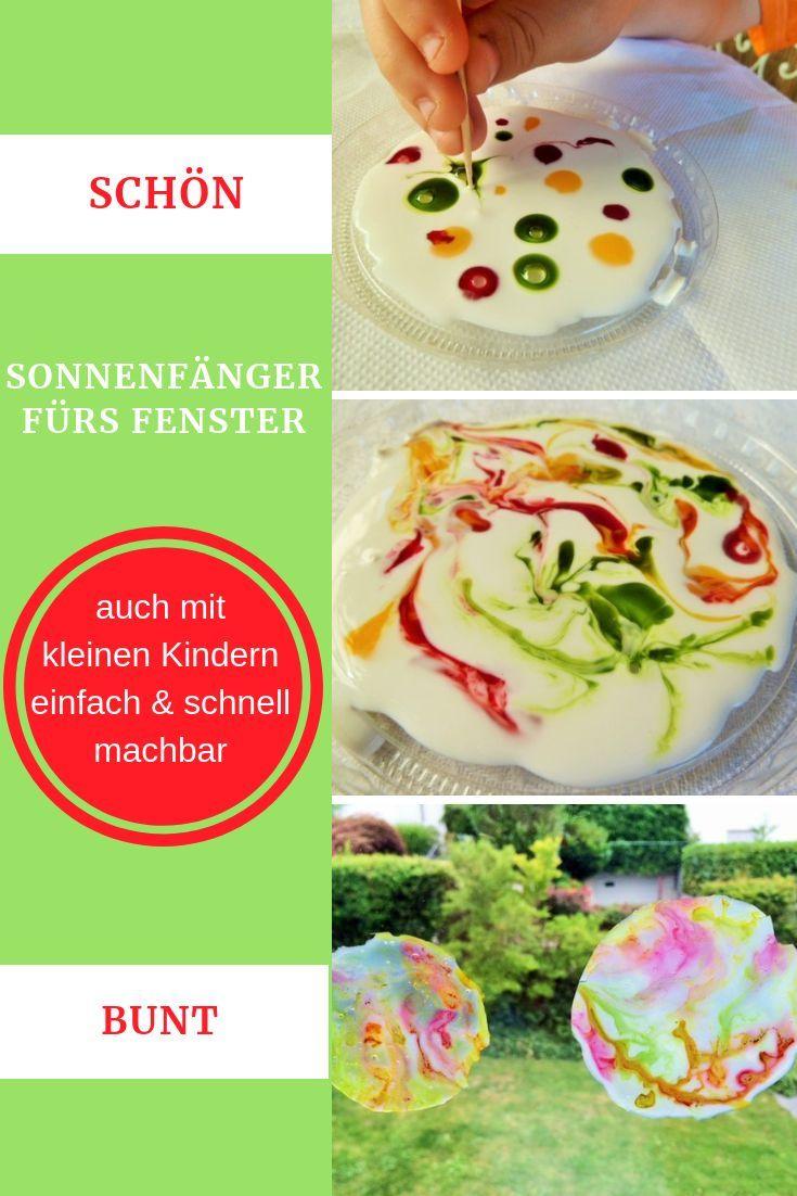 Sommerdekoration - Bunte Sonnenfänger am Fenster - Schweizer Familienblog: DIE ANGELONES