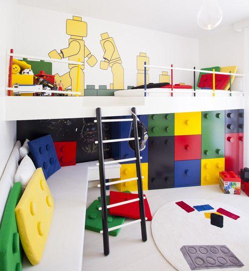 LEGO kamer l Jongenskamer tips en inspiratie l - Lego kamer, Lego en ...