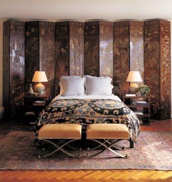 35 Ideas To Use Room Dividers As Headboards Dormitorios Dormitorio Principal Muebles