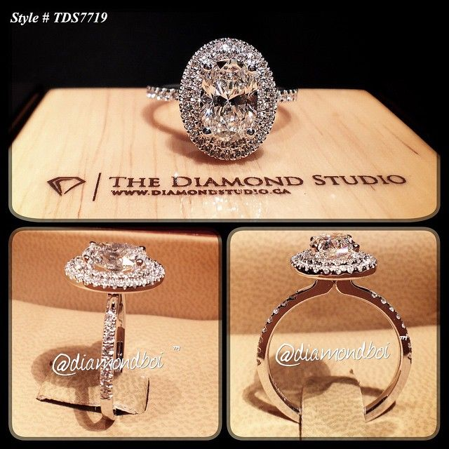 No Words Necessary Other Than 150ct Oval Double Halo Thin Shank Beautiful