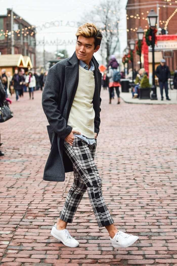 Comment porter le pantalon tartan homme ce printemps ?