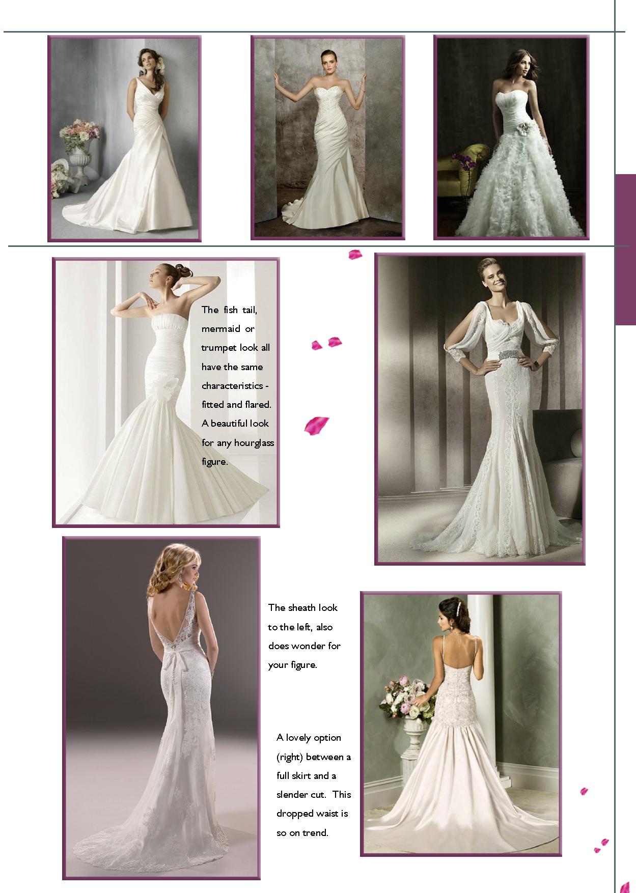 Sophia Hourgl Body Shape Bridal Gown Suggestions Weddingdaystyle Weddinggowns Weddings Styleguide