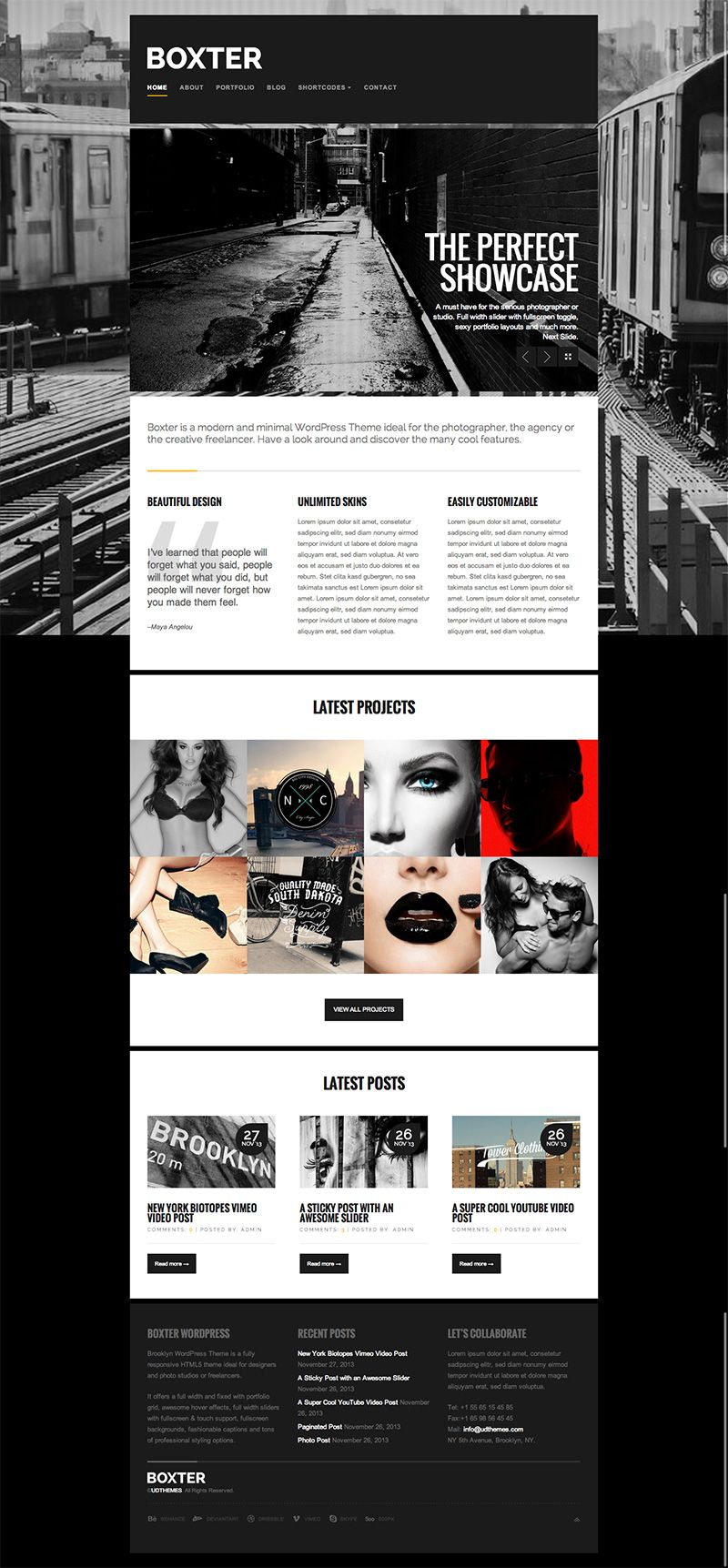 Website design | Website Design | Pinterest | Wordpress template ...