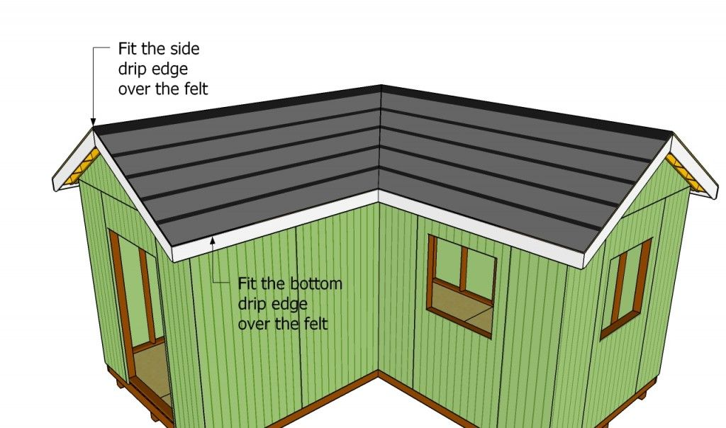 How To Install Roof Decking Howtospecialist How To Build Step By Step Diy Plans Roof Installation Diy Shed Plans Diy Plans