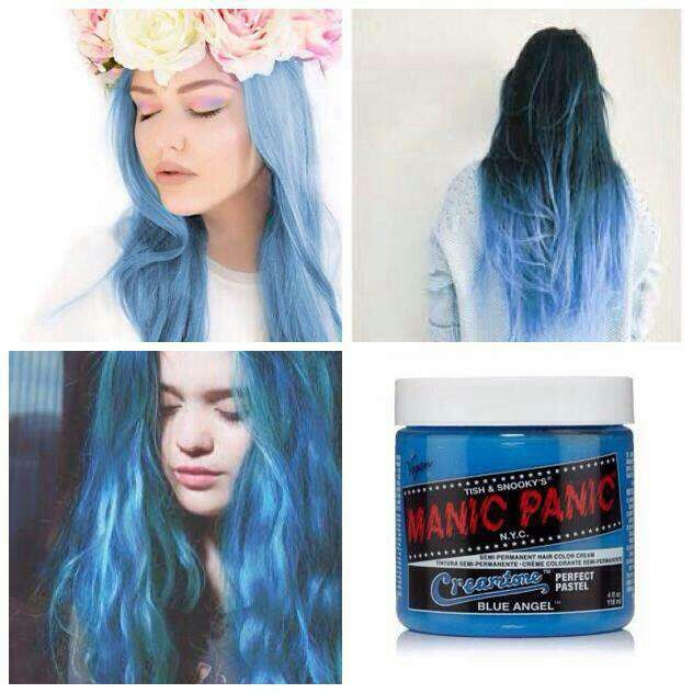 Blue Angel From Manic Panic Manic Panic Hair Color Dyed Hair