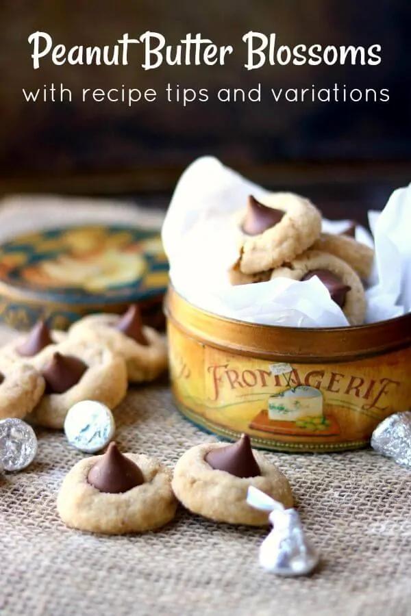 Peanut Butter Blossoms Recipe: Hershey's Classic #peanutbuttersquares