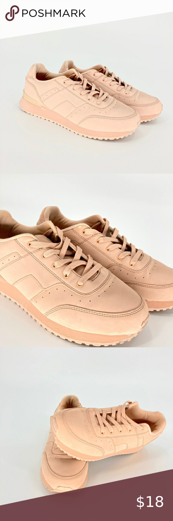 Pull Bear Pink Trainers Sneakers Pull Bear Pink Trainers Sneakers Pull Bear Peach Pink Vintage Trainers Womens Shoes Sneakers Trainer Sneakers Sneakers