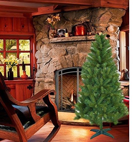 6ft Valley Pine Tree: 6 Foot Artificial Pine Christmas ...