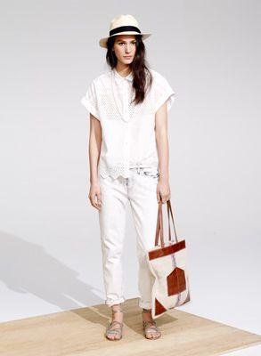 Spring Lookbook - Madewell Love the shirt!