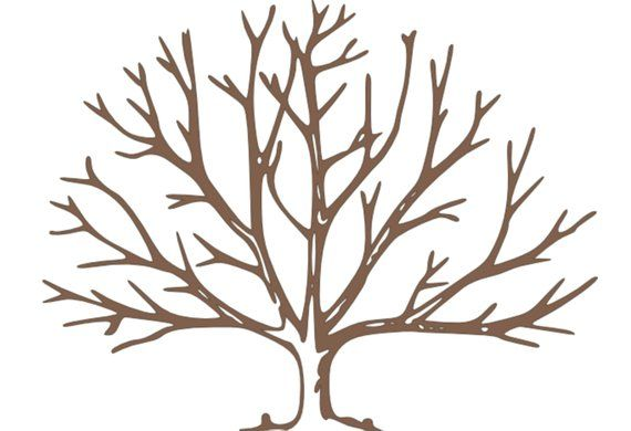 Landscape Painting Tree Painting Brown paintings White