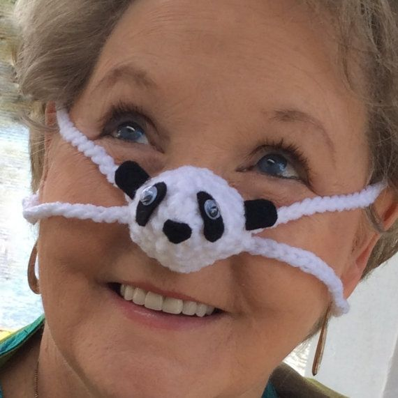 Panda Nose Warmer Winter Nose Cover Unisex Outdoor Sporting Event