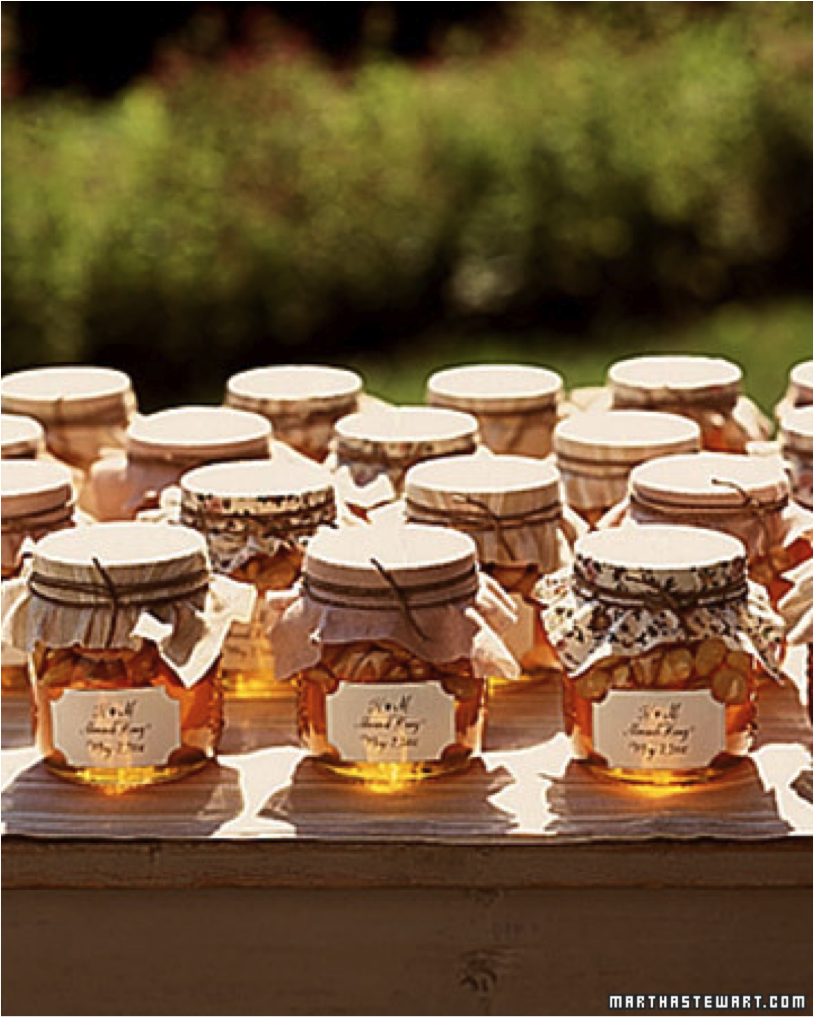 Gifts Of You Guessed It Honey For The Guests I Love The Warm
