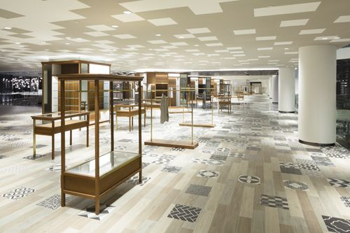 Siam discovery has been given  complete interior and exterior reconstruction by nendo the retail also rh za pinterest