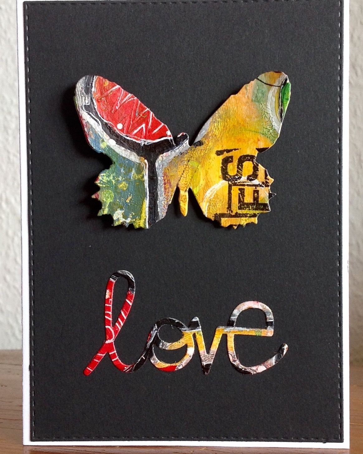 """Butterfly Duo"" Sizzix, Tim Holtz"